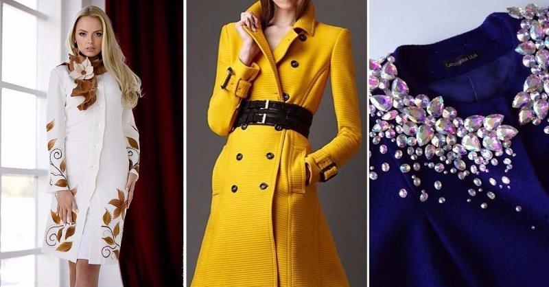 Декор и переделка пальто своими руками: хенд мейд идеи и фото