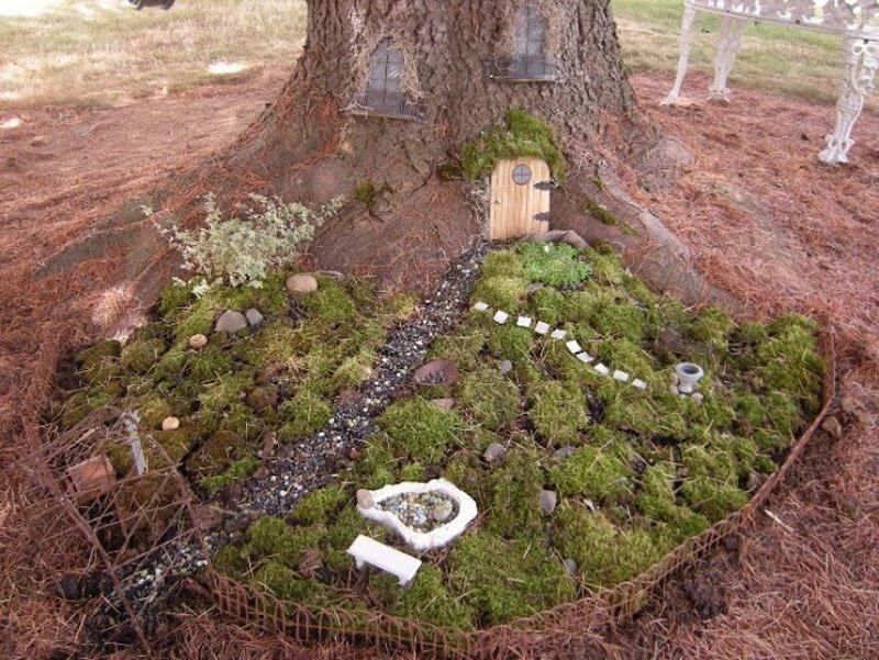 как создать миниатюрный сад