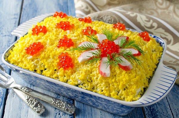 как украсить салат из свеклы