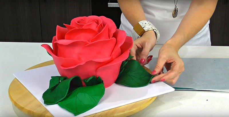 Rose torta