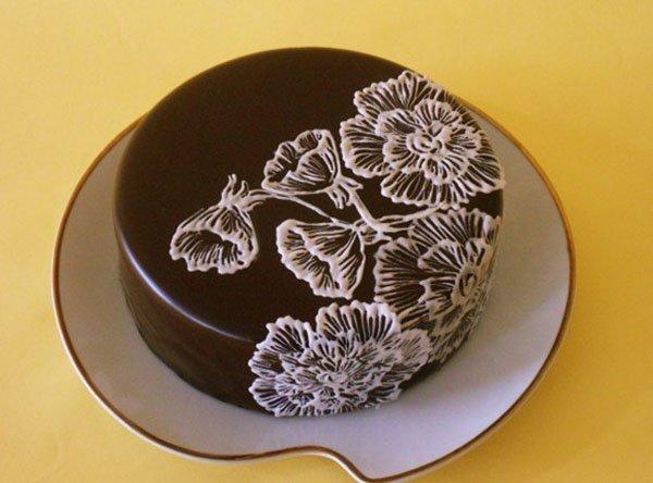 ako zdobiť tortu