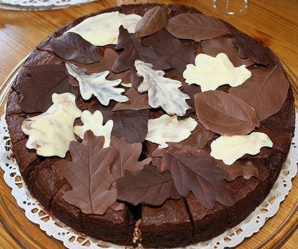 ako zdobiť marhuľový koláč