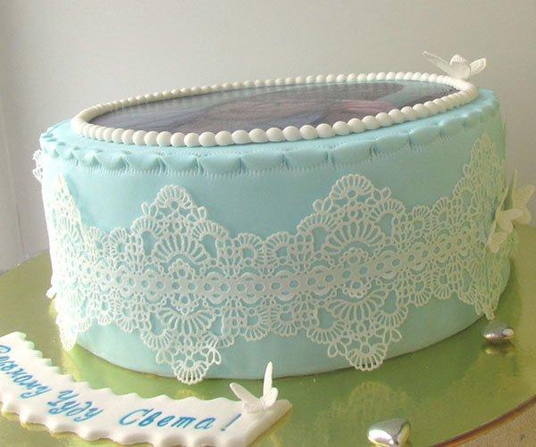 ako zdobiť cukrársky tortu