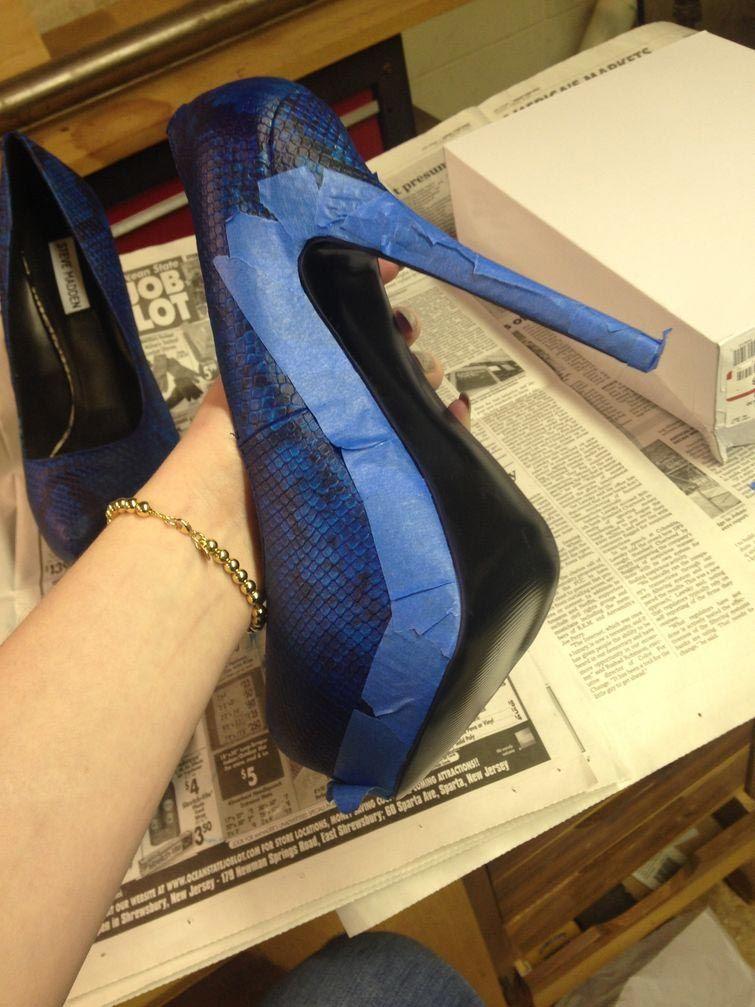 как украсить туфли