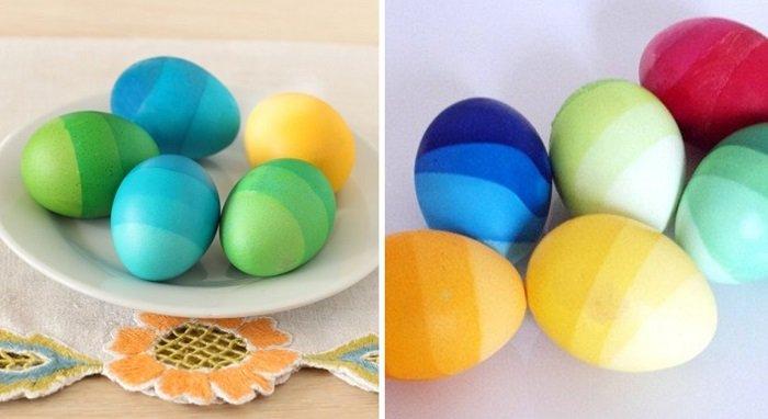 идеи как украсить пасхальные яйца