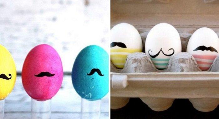 как украсить пасхальные яйца стразами