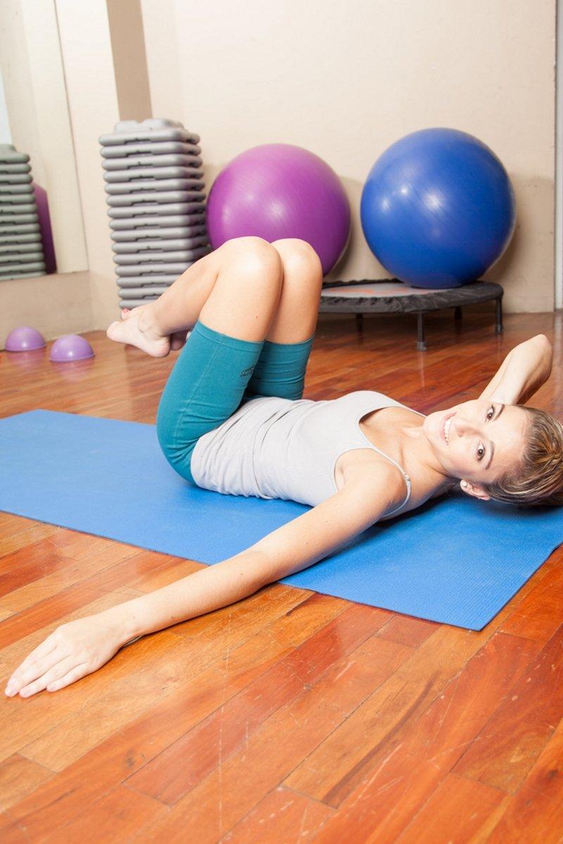 упражнения для талии дома