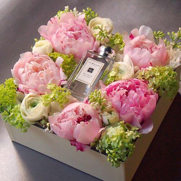 оформление букетов из цветов