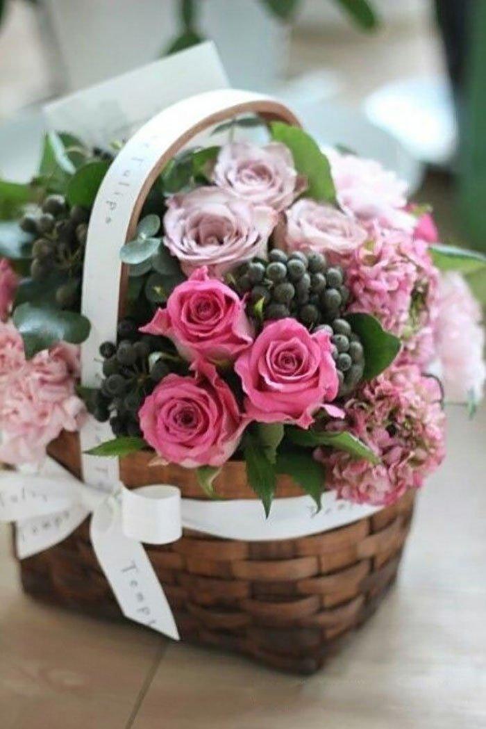 оформление букетов цветов сеткой