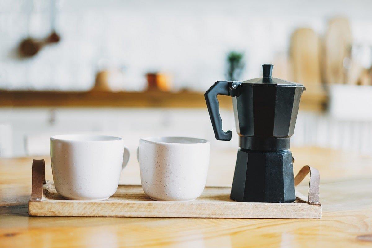 сварить кофе в гейзерной кофеварке