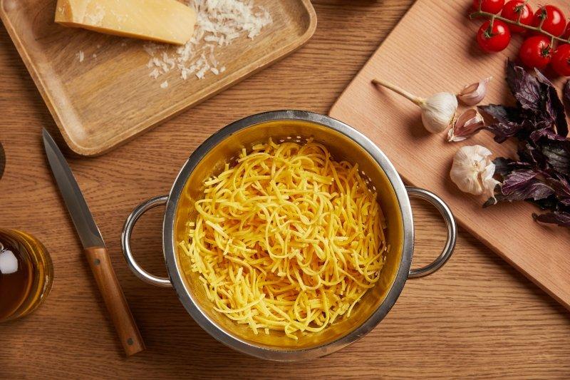 как приготовить спагетти дома