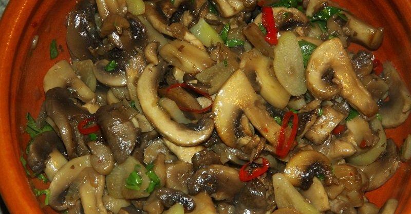 как приготоить вкусные жареные грибы