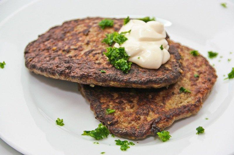 оладьи из говяжьей печени фото рецепт