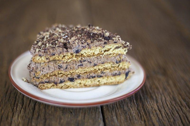 пирог с черносливом и курагой