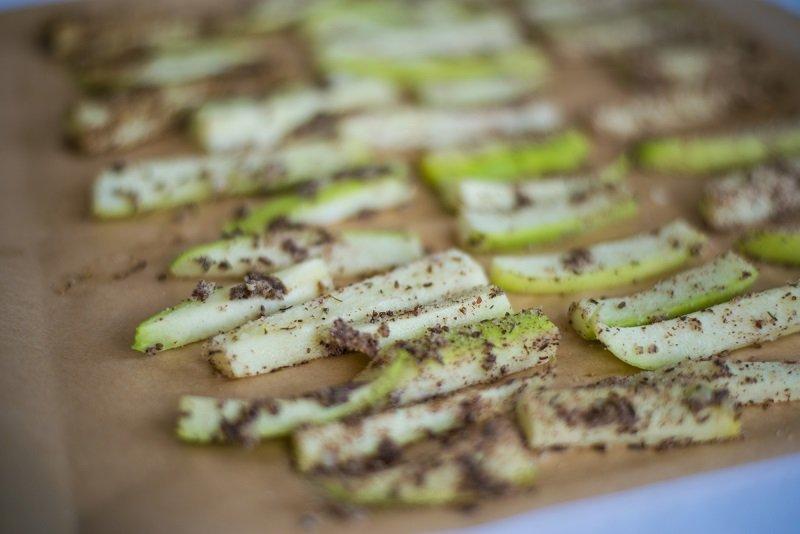 палочки из кабачков с сыром в духовке