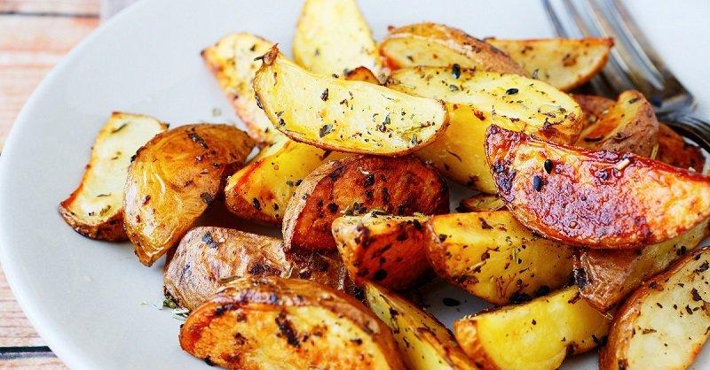 картошка в соевом соусе рецепт