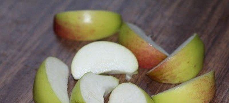 куриная грудка с яблоками в духовке