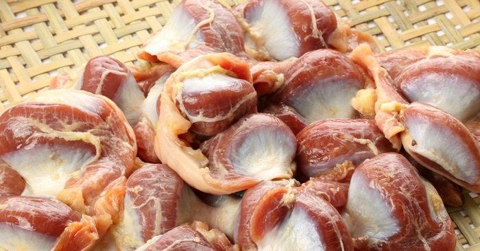 куриные желудки