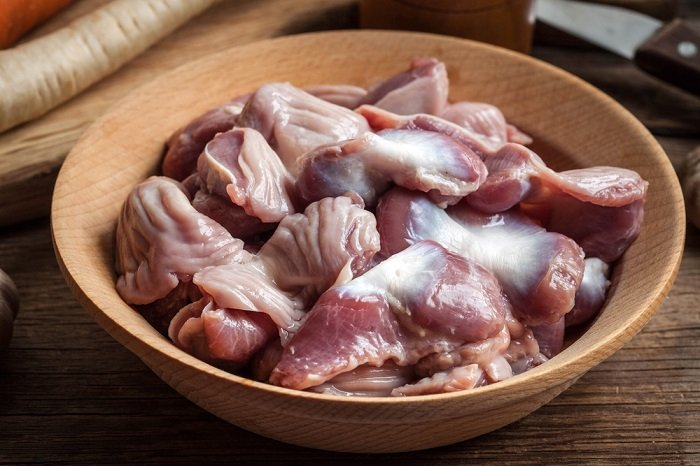 куриные желудки калорийность