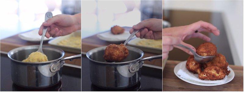 яйцо пашот в панировке