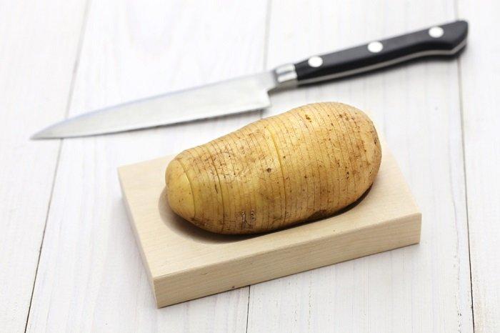 запеченный картофель в духовке