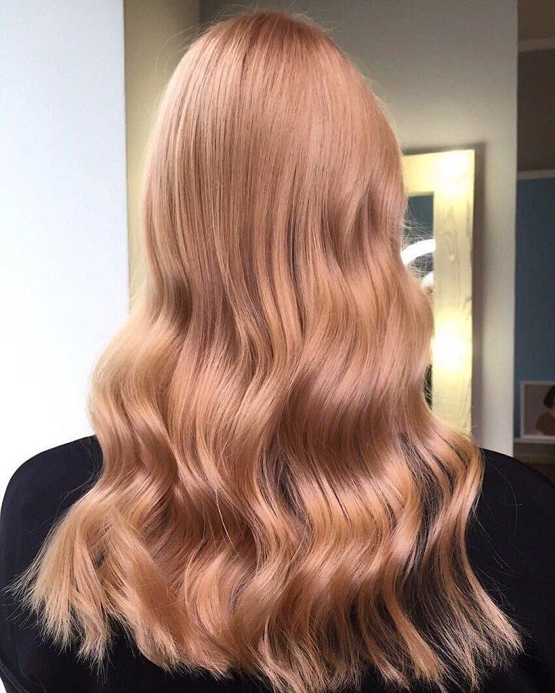 правильный цвет волос