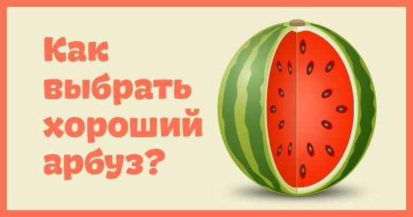 Ты узнаешь его из тысячи! 8 отличительных признаков вкусного и спелого арбуза.