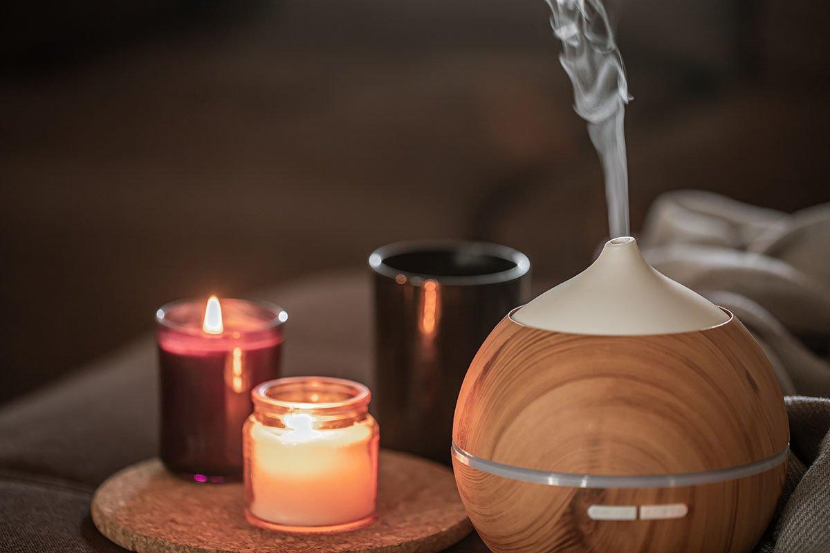 увлажнитель и свечи