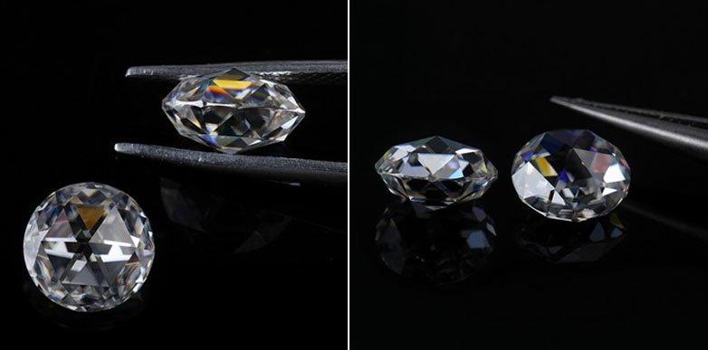 кольцо белое золото с бриллиантом