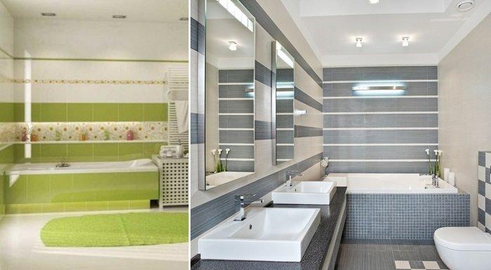 как выложить плитку на пол в ванной