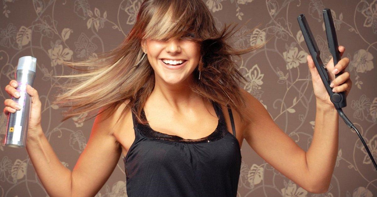 Как выпрямить волосы, не повреждая их! 7 приемов для удивительной гладкости.