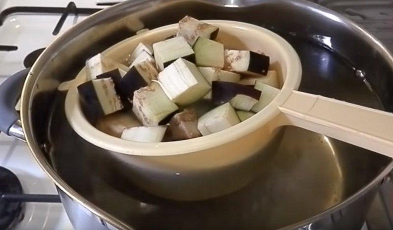 заморозить баклажаны на зиму