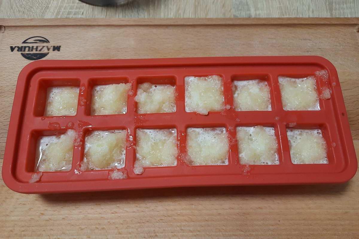 как заморозить дыню