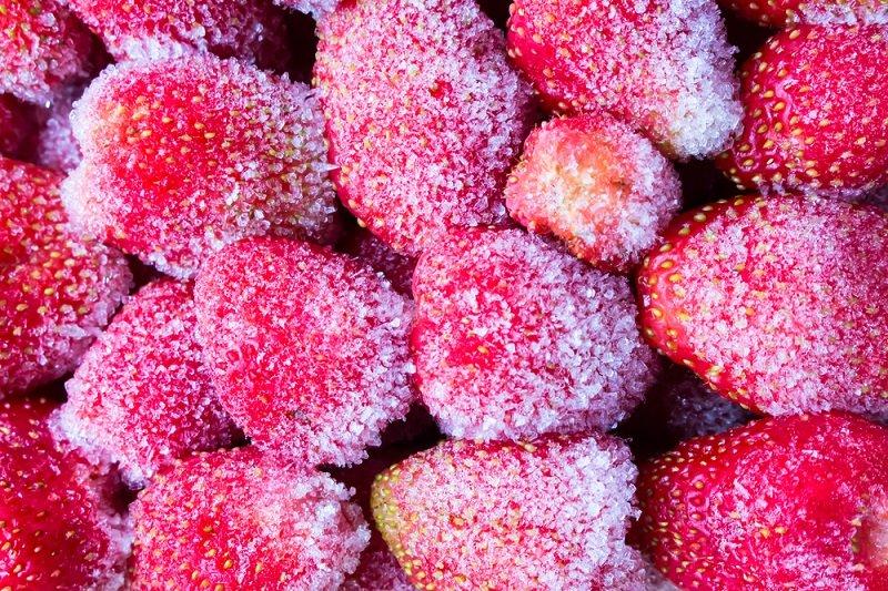 из замороженных ягод