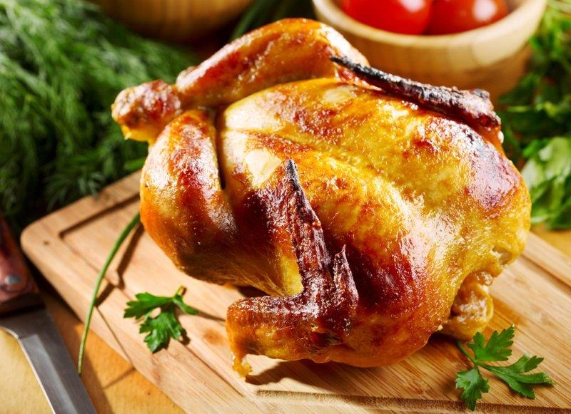 как запечь курицу без фольги и рукава