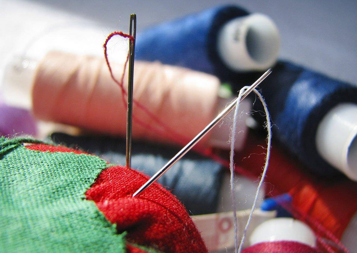 иголка вышивка
