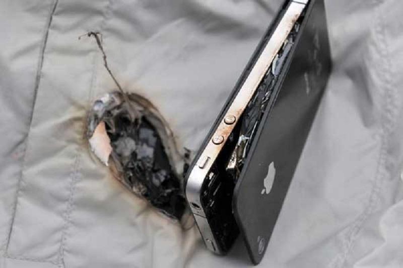 смартфон нагревается