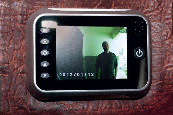 Видеоглазок на входную дверь своими руками видео