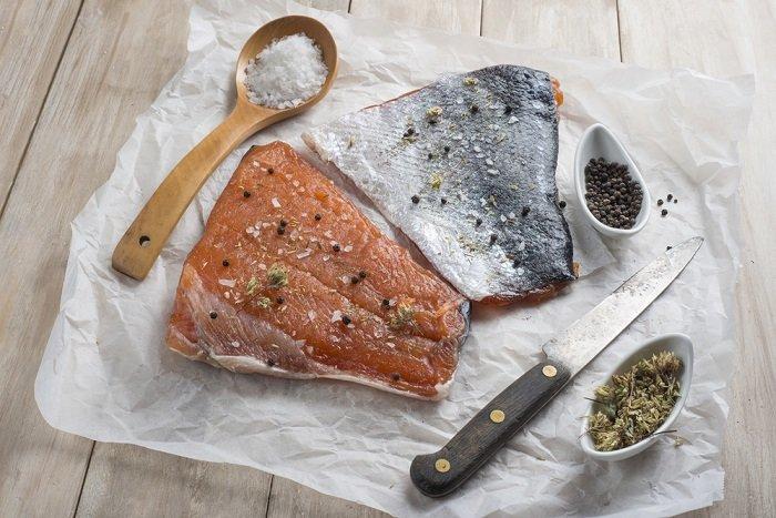 как засолить рыбу кету