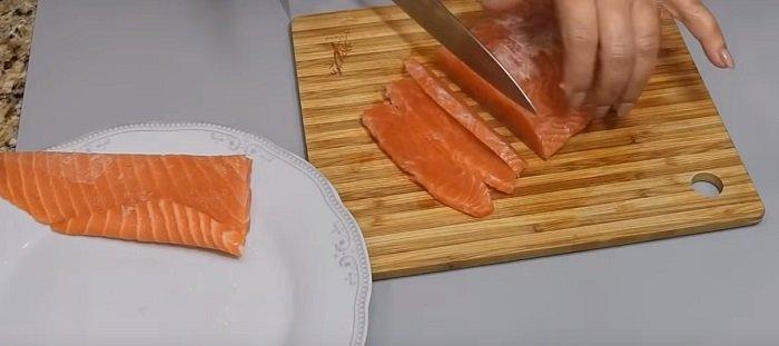 как засолить рыбу семгу
