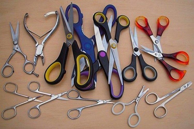 заточить ножницы фольгой