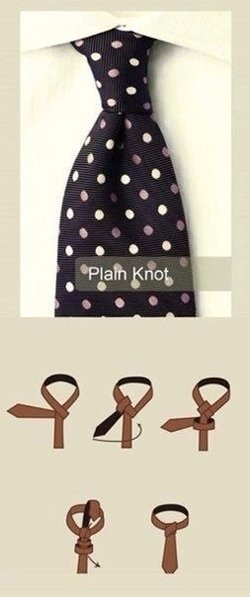 галстук схема