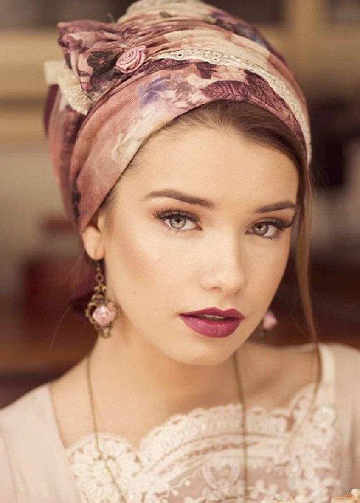 как красиво завязать шарф и платок