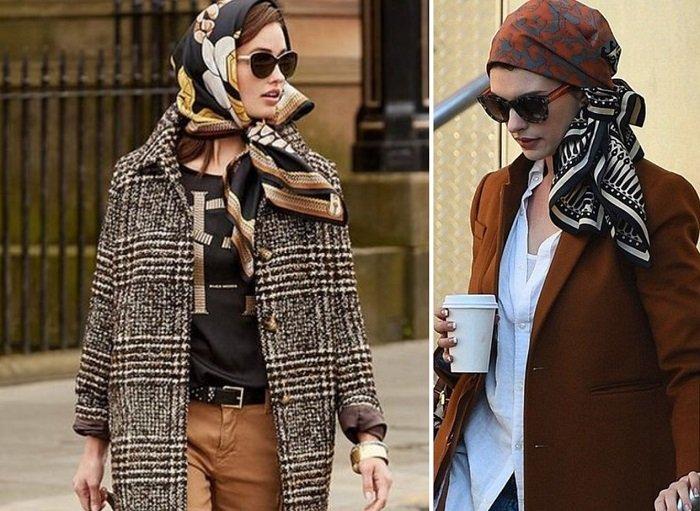 платок на голову для женщин