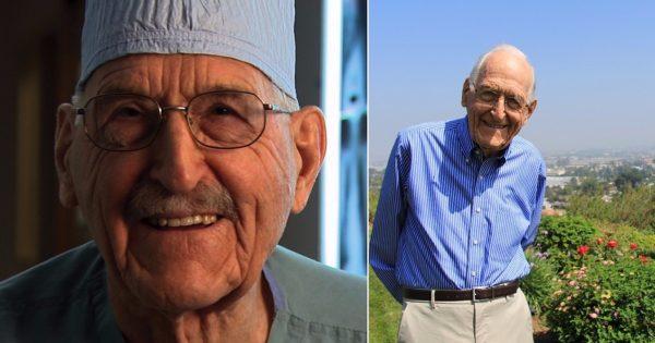 Сердце 103-летнего кардиохирурга Уэрхэма в полном порядке! Секрет здоровья и долголетия в…