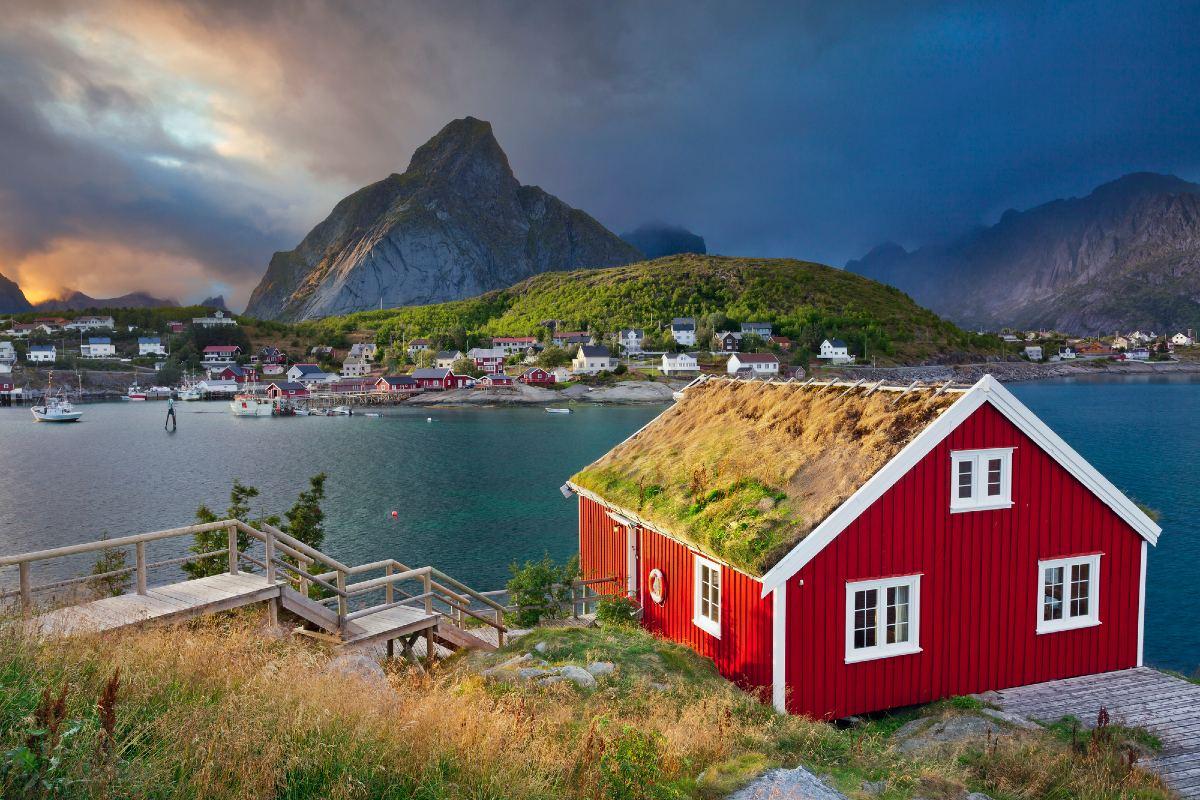 Почему бы норвежцам не сажать огород, раз есть частный дом и земля