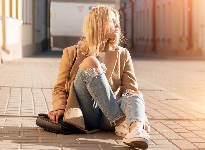 джинсы на осень