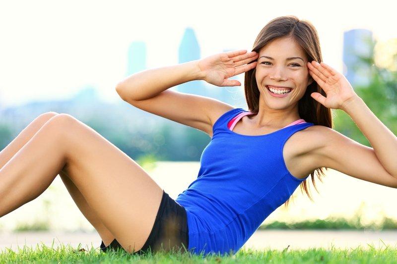 cvičenie pre brucho a zadok