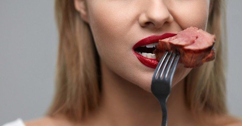 польза мяса для женщин