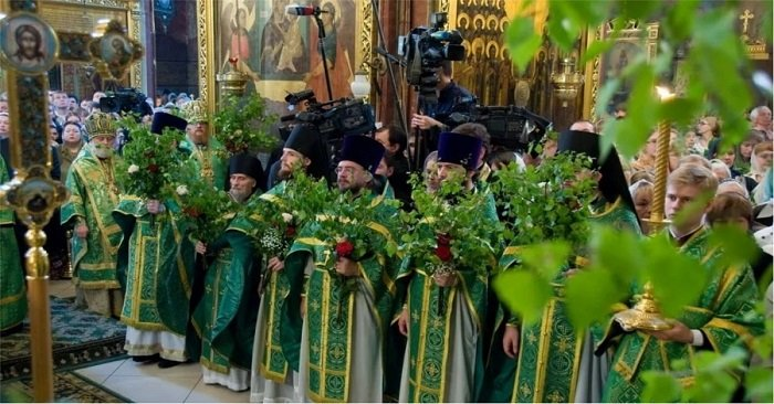 праздник троицы 2018